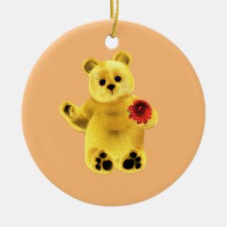 November Bear Ceramic Ornament