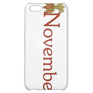 November Birth Month Themed iPhone 5 Case
