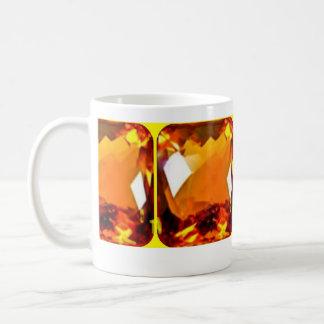 November Birthday. Citrine gems Mug by SHARLES