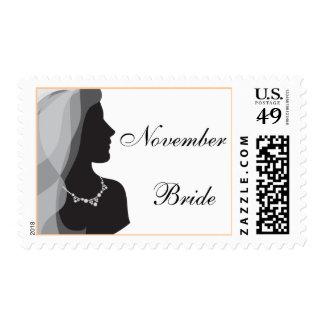 November Bride Stamps