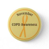 November COPD Awareness Month Button