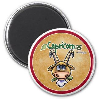 November & December - Capricorn 2 Inch Round Magnet