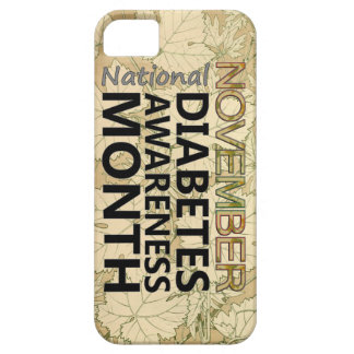 November Diabetes Awareness Month Fall Leaves iPhone SE/5/5s Case