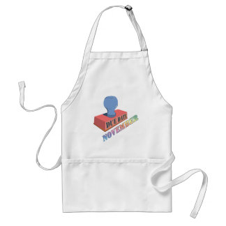 November Due Date Stamp Apron