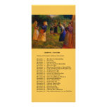 November events customized rack card