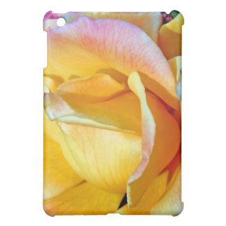 November Flame Delicate Yellow Rose iPad Mini Cover