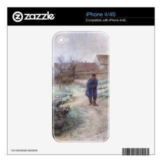 November Garden Skins For The iPhone 4