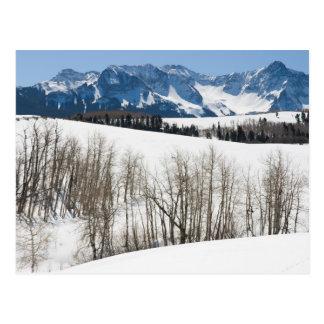 November in Uncompahgre Valley Postcard