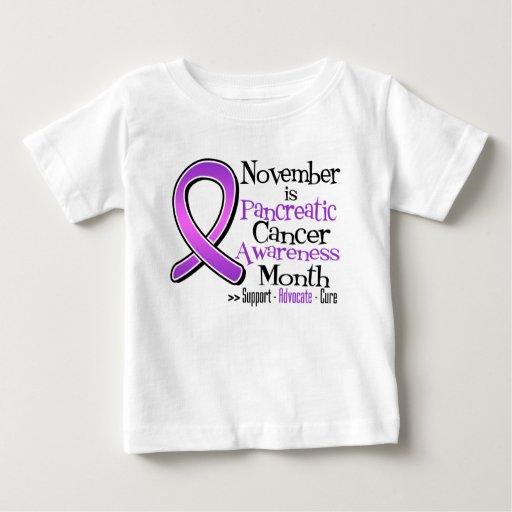 November is Pancreatic Cancer Awareness Month Tees