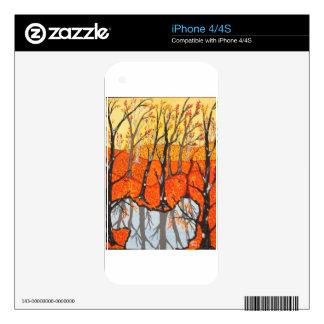 November Morning Skin For The iPhone 4