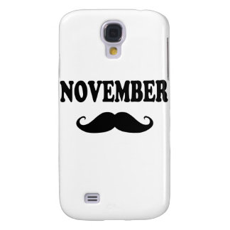 November Moustache!!! Galaxy S4 Covers