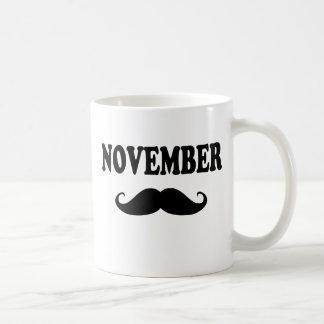 November Moustache!!! Coffee Mug