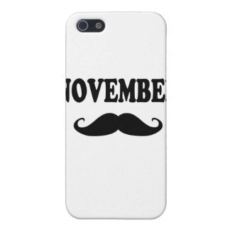 November Moustache!!! iPhone 5 Cover