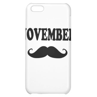 November Moustache!!! iPhone 5C Case