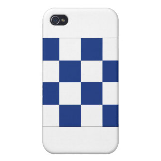 November (N) Signal Flag Cover For iPhone 4
