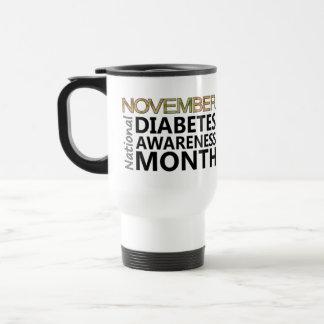 November National Diabetes Awareness Month Travel Mug