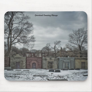 November Obscura, Graceland Cemetery Mouse Pad