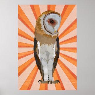 NOVEMBER OWL POSTER