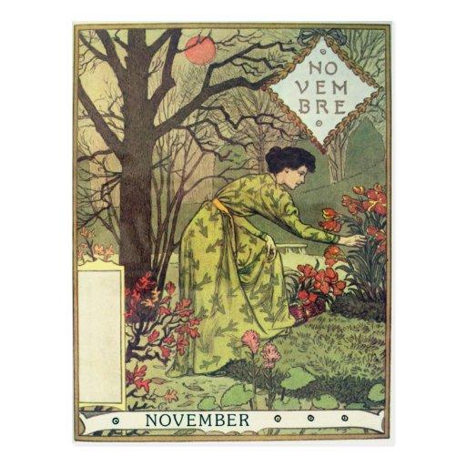 November Postcard