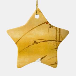 November - Sakai Hōitsu (酒井 抱一) Ceramic Ornament