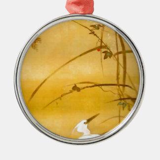 November - Sakai Hōitsu (酒井 抱一) Metal Ornament