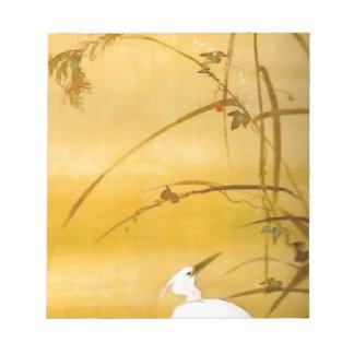 November - Sakai Hōitsu (酒井 抱一) Notepad