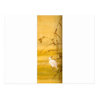 November - Sakai Hōitsu (酒井 抱一) Postcard