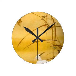 November - Sakai Hōitsu (酒井 抱一) Round Clock