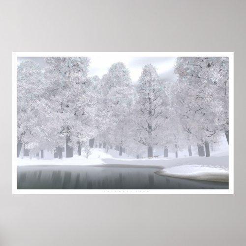 November Snow print