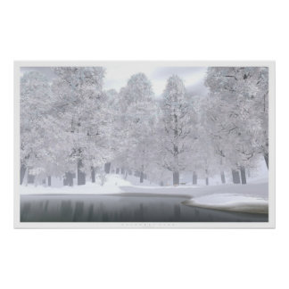 November Snow Poster