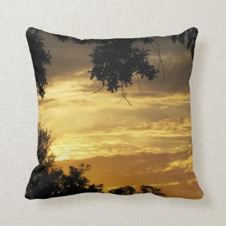 November Sunset-2 Pillow