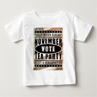 November Tea Party Baby T-Shirt