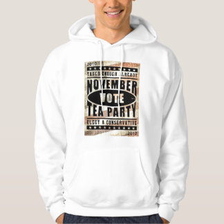 November Tea Party Hooded Sweatshirt