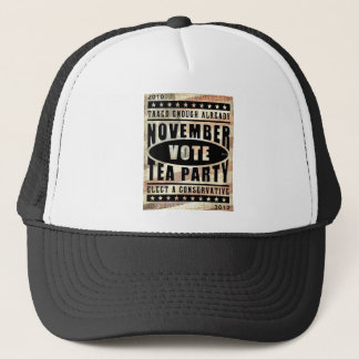 November Tea Party Trucker Hat