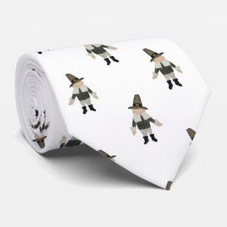 November Thanksgiving Pilgrim Puritan Boys Pattern Tie