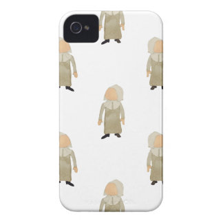 November Thanksgiving Pilgrim Puritan Kids Pattern iPhone 4 Case-Mate Cases