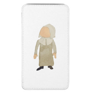 November Thanksgiving Pilgrim Puritan Toddler Girl Galaxy S5 Pouch