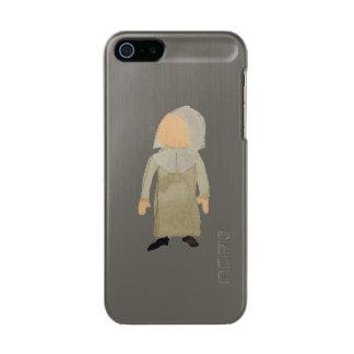 November Thanksgiving Pilgrim Puritan Toddler Girl Metallic iPhone SE/5/5s Case