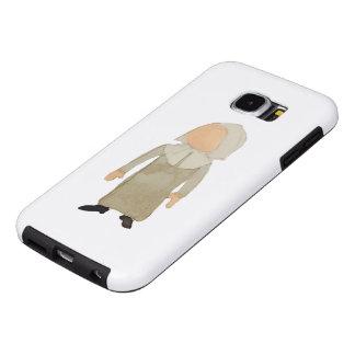 November Thanksgiving Pilgrim Puritan Toddler Girl Samsung Galaxy S6 Cases
