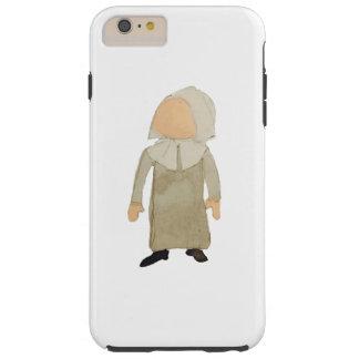 November Thanksgiving Pilgrim Puritan Toddler Girl Tough iPhone 6 Plus Case