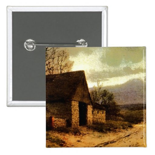 November Twilight  (1912) Barn and Fields Bookmark Button