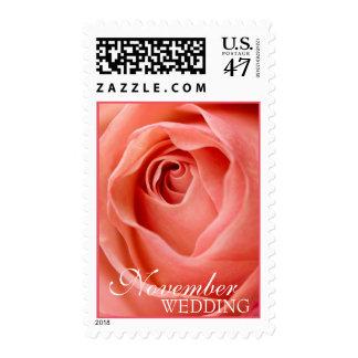 November Wedding Postage