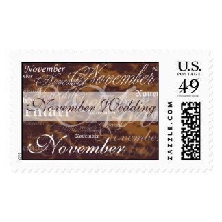 November Wedding Topaz Stamp