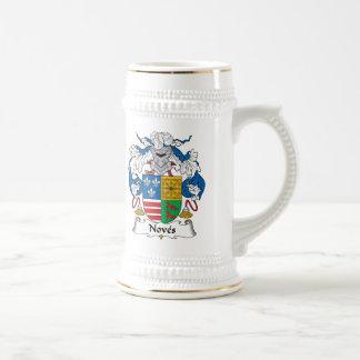 Noves Family Crest Coffee Mug