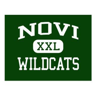 Novi - gatos monteses - High School secundaria de Tarjeta Postal