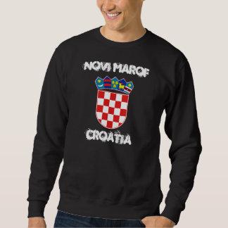 Novi Marof, Croatia with coat of arms Sweatshirt