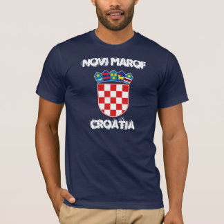 Novi Marof, Croatia with coat of arms T-Shirt