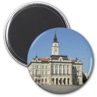 Novi Sad - City Hall 2 Inch Round Magnet