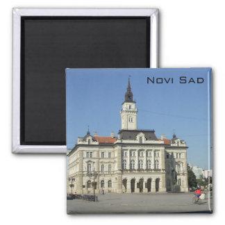 Novi Sad - City Hall Refrigerator Magnet