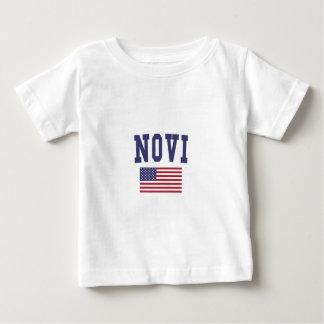 Novi US Flag Baby T-Shirt